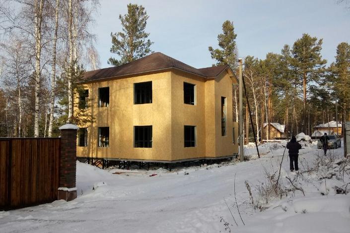 Дом из ЛСТК. Фото предоставлено компанией «Мой Дом»