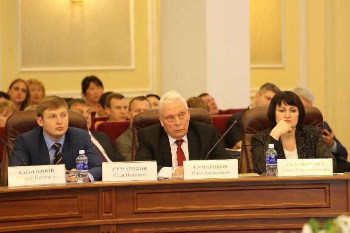 Илья Сумароков, Илья Сумароков (старший), Ольга Стасюлевич