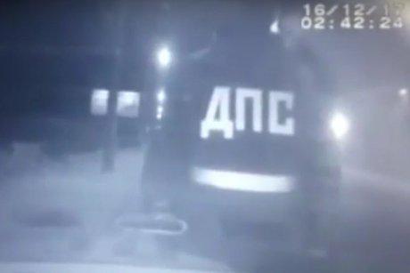 ВИркутске нетрезвый шофёр сбил сотрудника ДПС