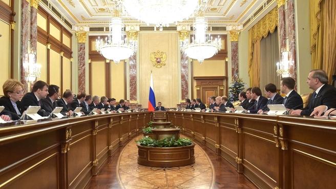 Заседание правительства 19 декабря. Фото government.ru