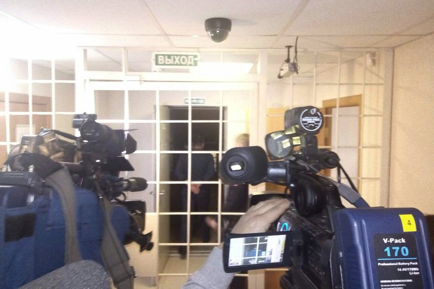 В Ленинском районном суде. Фото ИА «Иркутск онлайн»