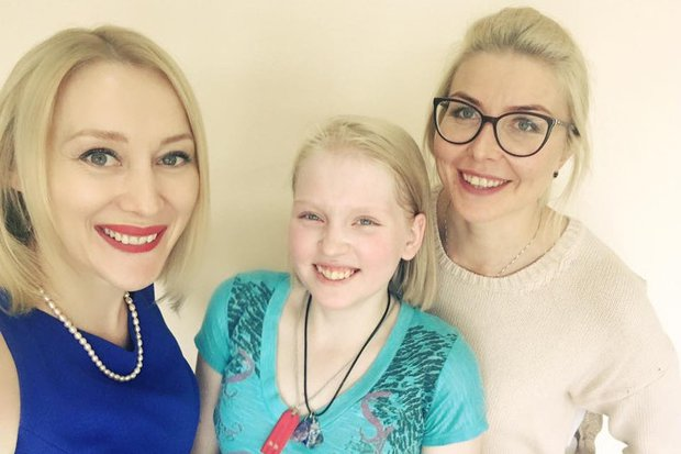 Анна Суркова, Катя Гаврилова и Анна Логинова