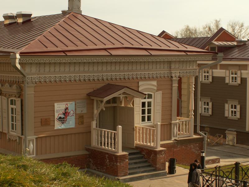 Здание музейного комплекса «Окно в Азию». Фото IRK.ru