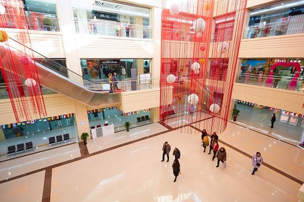 В торговом центре «Новый Ябаолу»
