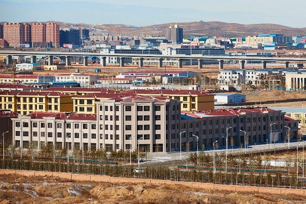 Вид на новый район городского округа Уланчаб