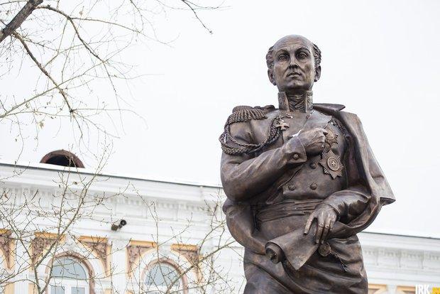 Памятник Михаилу Сперанскому. Автор фото — Валерия Алтарёва