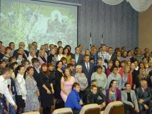 На торжественном приеме. Фото IRK.ru