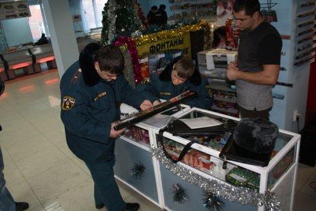 Засутки вИркутской области работники МЧС изъяли тысячу единиц некачественной пиротехники