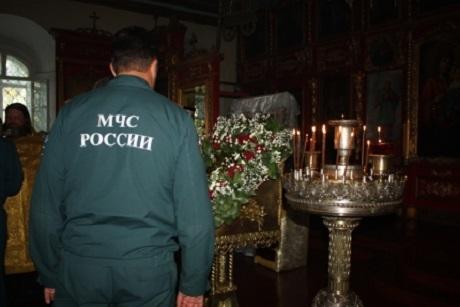 ВРождественскую ночь вхрамах Приангарья будут дежурить пожарные