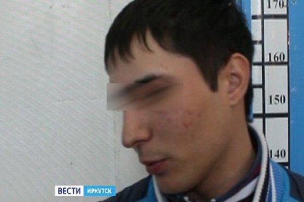 Один из подозреваемых. Фото «Вести—Иркутск»