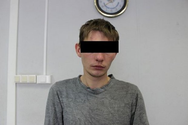 Подозреваемый. Фото с сайта ГУ МВД России по Иркутской области