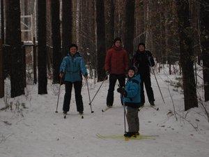 Лыжи и свежий воздух