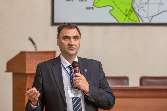 Дмитрий Гладкочуб. Фото Владимира Короткоручко, пресс-центр ИНЦ СО РАН
