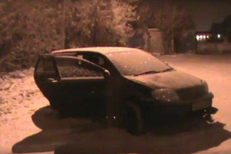 ВИркутске милиция после погони поймала водителя без прав