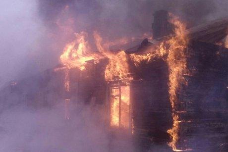 ВУсть-Куте врезультате сильного возгорания умер пенсионер-инвалид