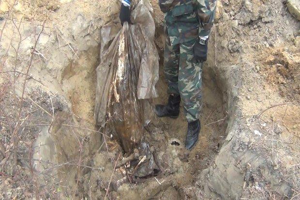 Найденные останки одной из жертв Попкова. Фото предоставлено Евгением Карчевским
