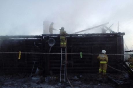 ВИркутской области жертвами пожара стали 4 человека