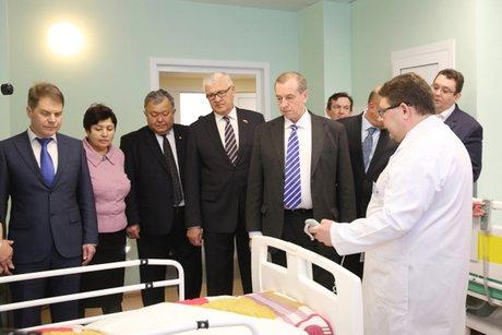 Вовтором блоке Иркутской областной клиники открыли отделение травматологии