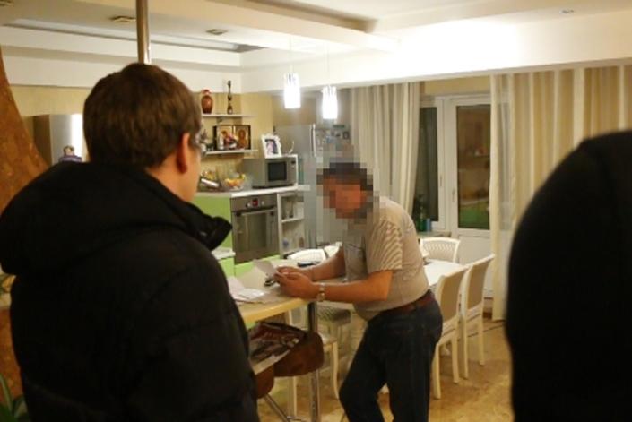 Оперативные мероприятия. Фото пресс-службы СУ СКР по Иркутской области