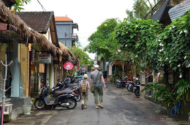 Убуд – очень зелёный, тихий и уютный городок