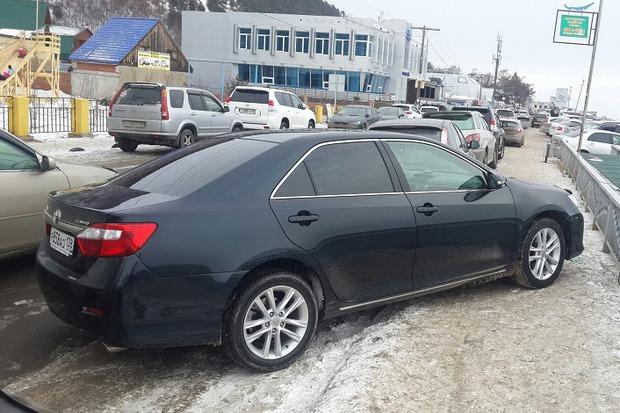 В Листвянке можно и не такое увидеть. Фото из группы «ДТП 38RUS»