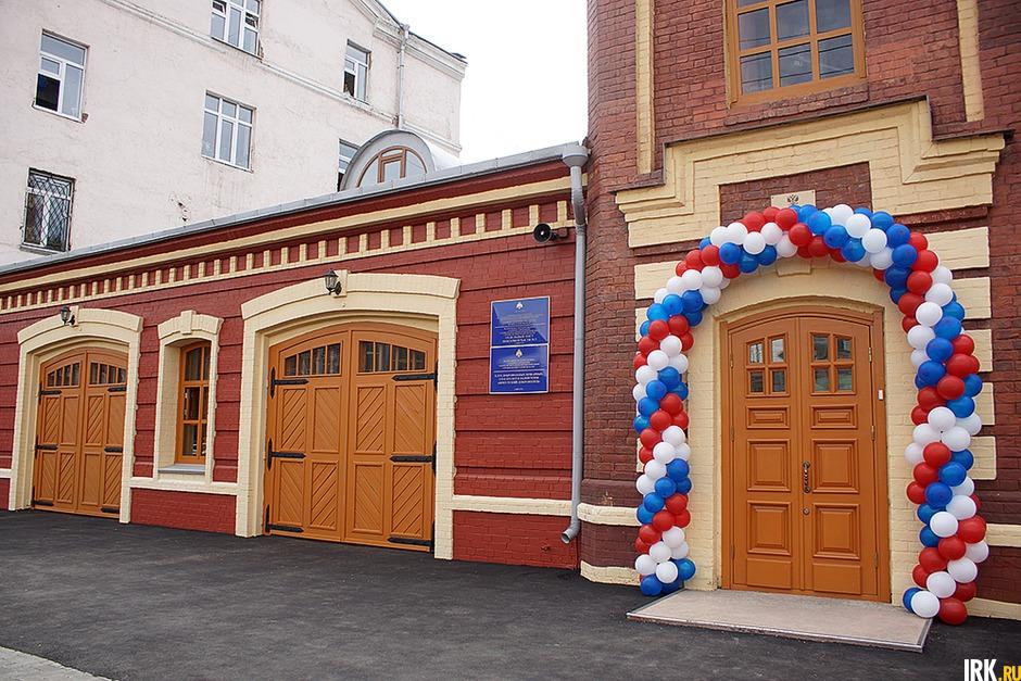 Открытие Музея истории пожарной охраны в 2014 году. Автор фото — Яна Ушакова