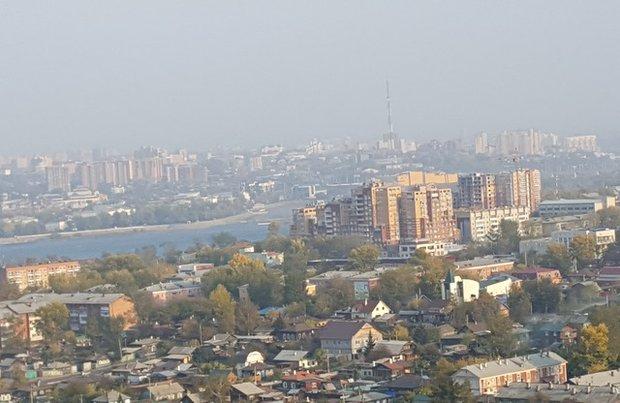 Вид из окна квартиры на улице Маяковского в ЖК «Глазковская роща»