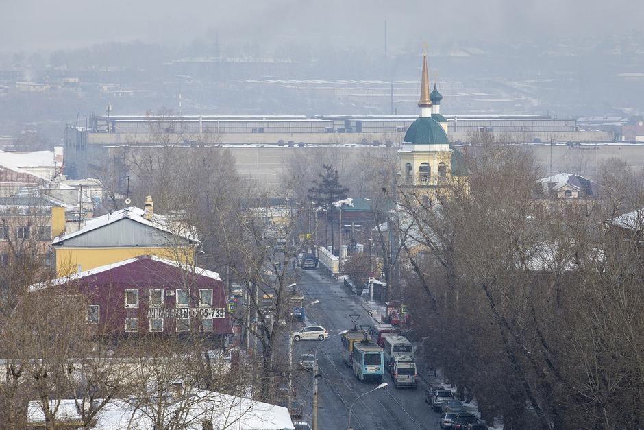 Вид с каланчи на город. Автор фото — Валерия Алтарёва