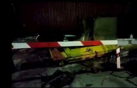 Автокран столкнулся споездом напереезде между Бирюсинском иТайшетом