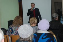 На собрании. Фото предоставлено пресс-службой администрации АГО