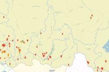 Свалки в Иркутской области. Изображение с сайта www.kartasvalok.ru