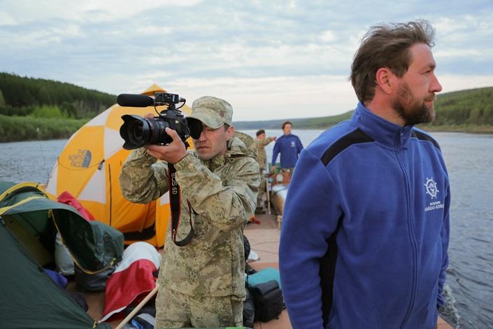 Разведка маршрута. Фото с сайта проекта «Байкал-Аляска»