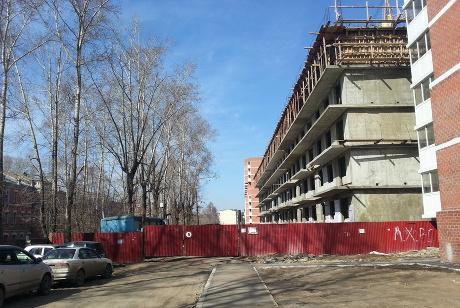 ЗастройщикЖК «Порт-Артур» сказал часть блок-секций надостройку Приангарью