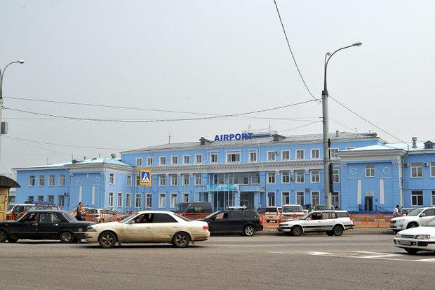 Здание терминала международных рейсов