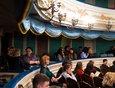 После презентации выставки гостей пригласили в основной зал театра на спектакль «Прощание с Матёрой».