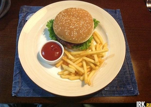 Гамбургер. Фото Абрама Дюрсо