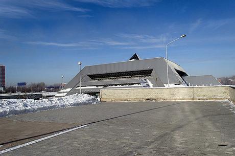 Ледовый дворец. Фото ИА «Иркутск онлайн»