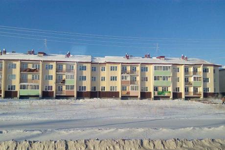 Дома для переселенцев в Братске. Фото ИА «Иркутск онлайн»