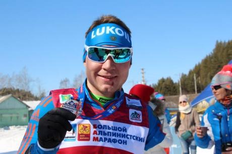 Владислав Лекомцев. Фото предоставлено организаторами марафона