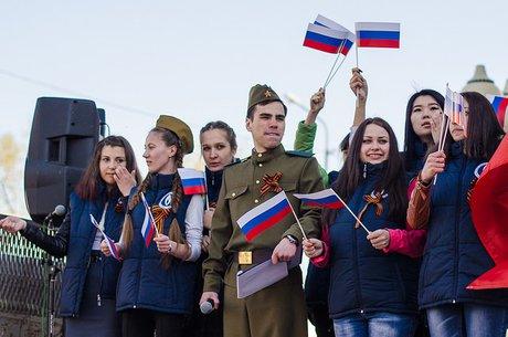 Астраханцев приглашают присоединиться кучастию вволонтёрском движении Дня Победы