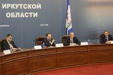 На совещании. Фото с сайта правительства Иркутской области