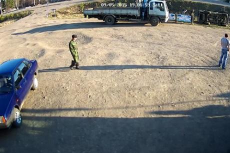 На месте происшествия. Скриншот из видео