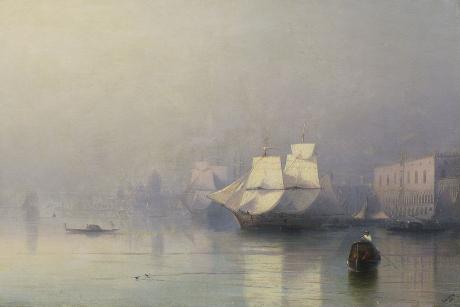 «Утро вВенеции»: выставка Ивана Айвазовского открылась вхудожественном музее Иркутска