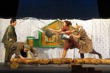 Спектакль. Фото с сайта Черемховского драмтеатра