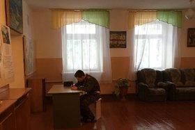 В Усольском кадетском корпусе. Фото IRK.ru