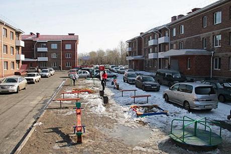 Новые дома в Черемхово. Фото пресс-службы администрации города