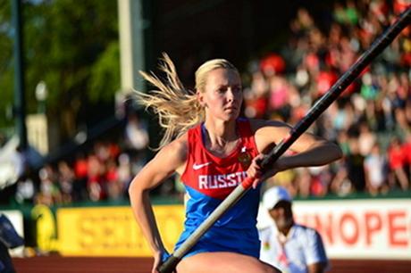 Алена Лутковская. Фото с сайта www.rusathletics.com