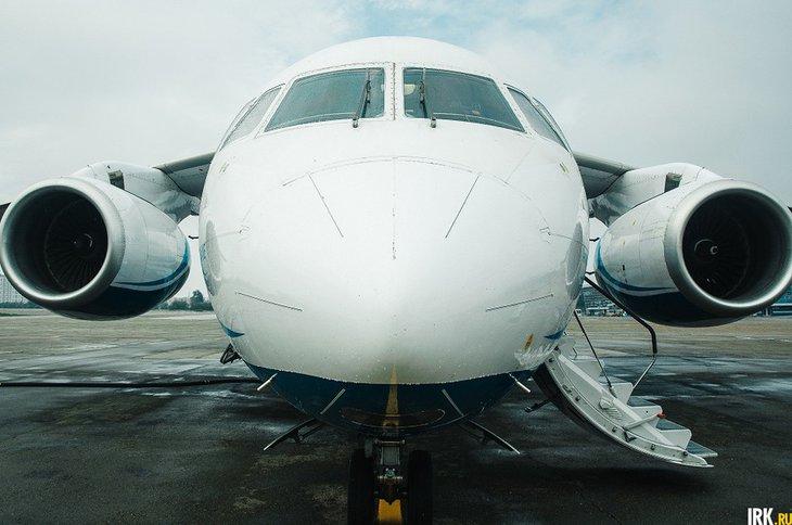 Самолет. Фото Никиты Пяткова