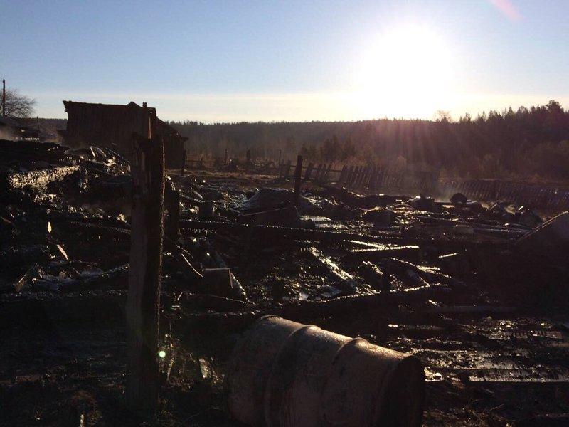 ВИркутской области 4 человек згорели живьем вужасном пожаре