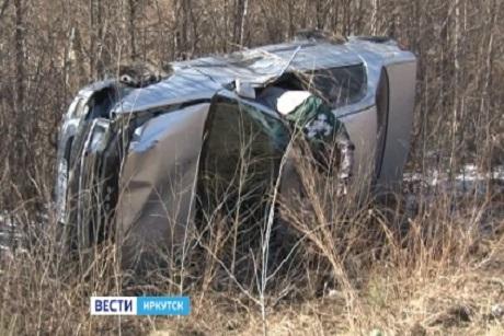 Шофёр иномарки умер вДТП с грузовым автомобилем под Мегетом